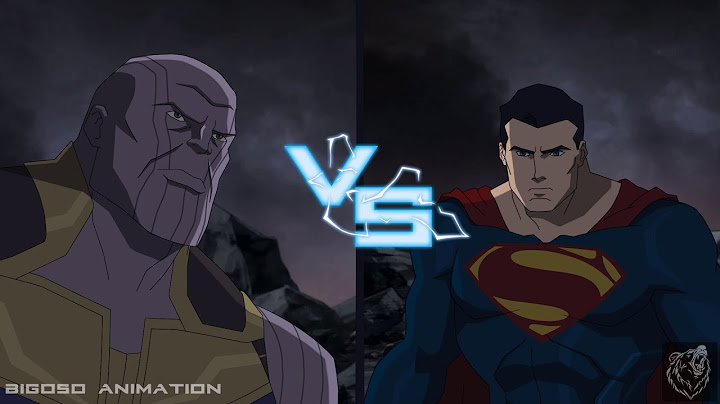 superman vs thanos multiversus what if