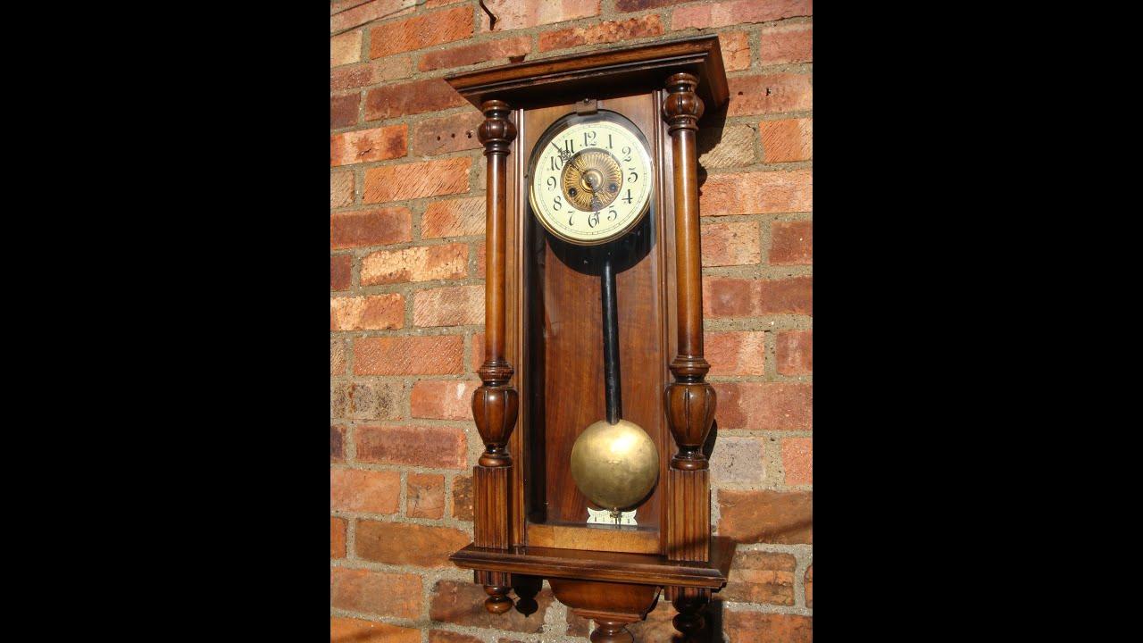 Antique old vintage h a c german strike wall clock key for German pendulum wall clocks