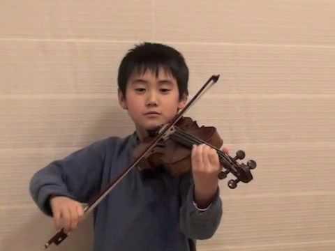 Violin concerto in G minor by Vivaldi