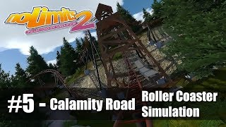 #5 Calamity Road by Coasterfan312 - Review 4.5 - NoLimits 2 - Roller Coaster Sim - PC Gameplay 60fps