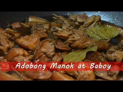 how to cook sweet adobong baboy