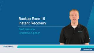 Backup Exec 16 Demo - Instant Recovery for Hyper-V Virtual Machines