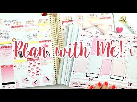 Plan with Me: Valentine's Day! EC & B6 TN