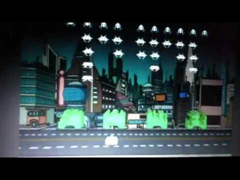 Space invaders futurama real clip