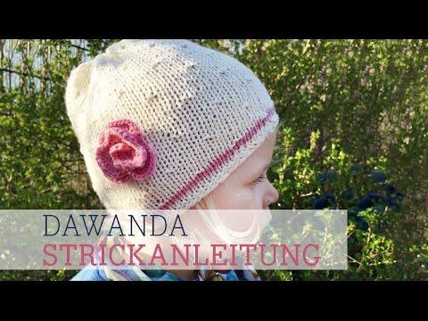 Dawanda Strickanleitung Sommerliche Kindermütze Youtube