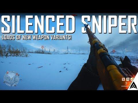 New Silenced Sniper! - Battlefield 1 CTE Update Information
