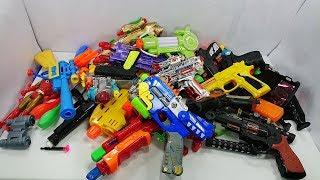 Box Full Of Toys | Gun Toys Colored