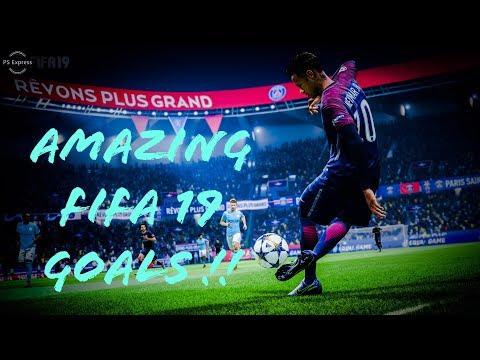 FIFA 19 GOALS COMPILATION !!!