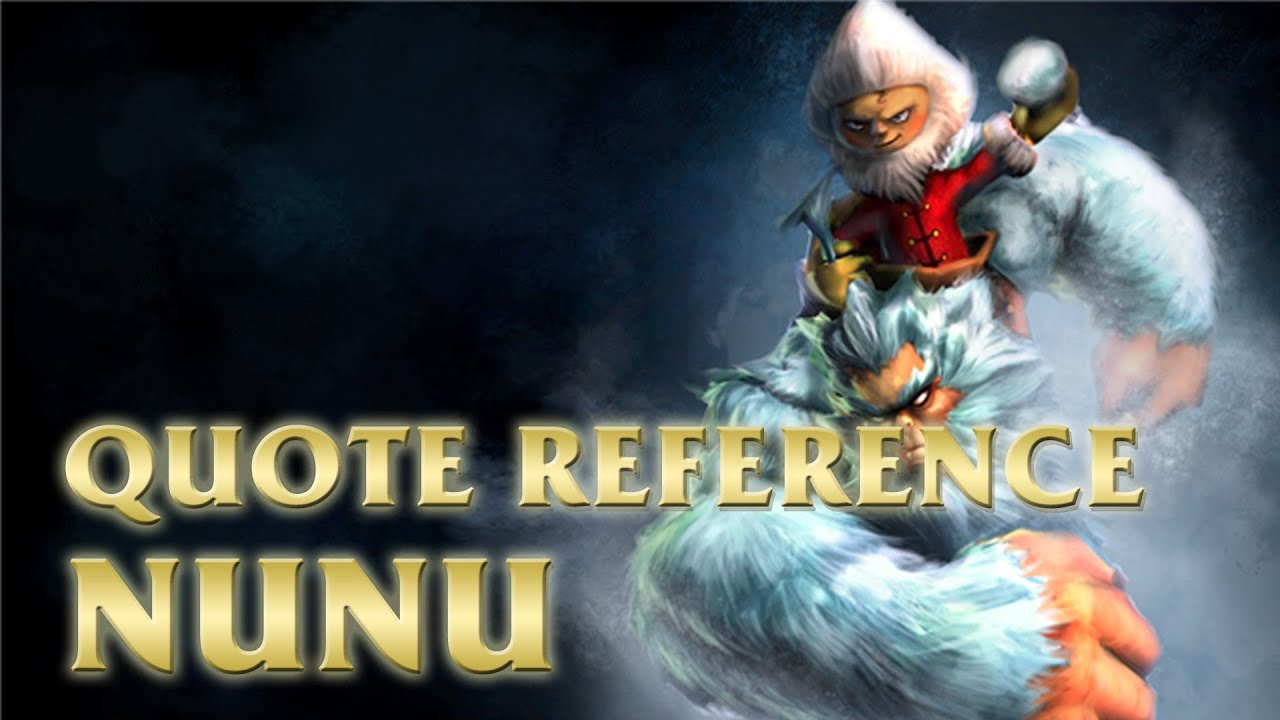 Nunu Dont Make Me Angry Quote League Of Legends Lol Youtube