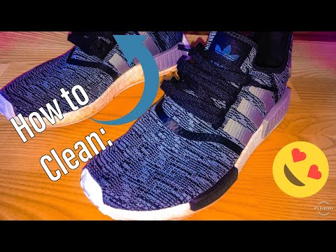 "How to Clean: ""Adidas NMD R1"""