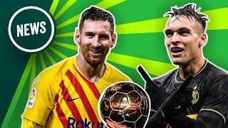 Messi o van Dijk, a chi il Pallone d'Oro? + Lautaro, arrivano i rinforzi! ► Onefootball News