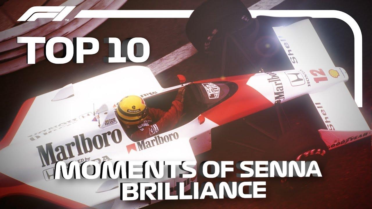 Top 10 Moments of Ayrton Senna Brilliance