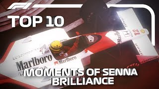 Top 10 Moments of Ayrton Senna Brilliance