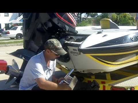 How To Install 5 Inch Transom Mount With Capt Tim Fey | Dig In Shallow Water Anchors