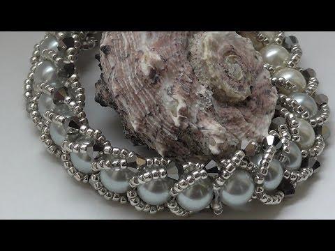 Мастер класс браслет из бисера/DIY TUTORIAL beading braselet