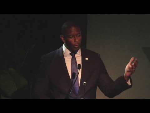 Mayor Andrew Gillum electrifies the crowd at CEH's event (5/17/18 ...