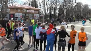 1 этап - команды школ (с 26 места по 50)-75 областная эстафета г.Ульяновск 2018г.
