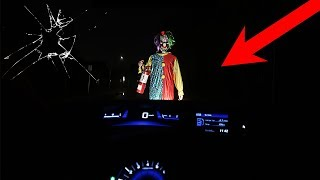 Video SCARY CLOWN HUNTING! | CLOWN SMASHES WINDSCREEN!! - CLOWN PURGE IS BACK!!! *CLOWN ATTACK GONE WRONG* download MP3, 3GP, MP4, WEBM, AVI, FLV Oktober 2018