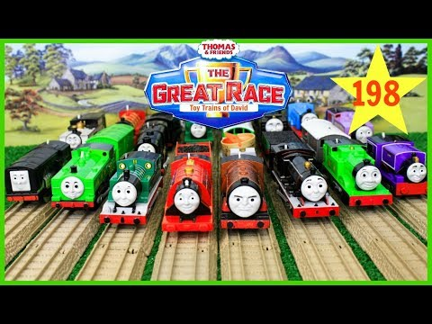Thumbnail: THE GREAT RACE #198 Thomas and Friends TrackMaster Journey Beyond Sodor THOMAS & FRIENDS TOY TRAINS