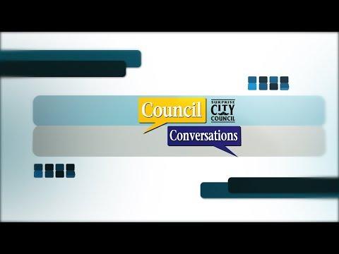 Council Conversations - Skip Hall - Public Arts in Surprise video thumbnail