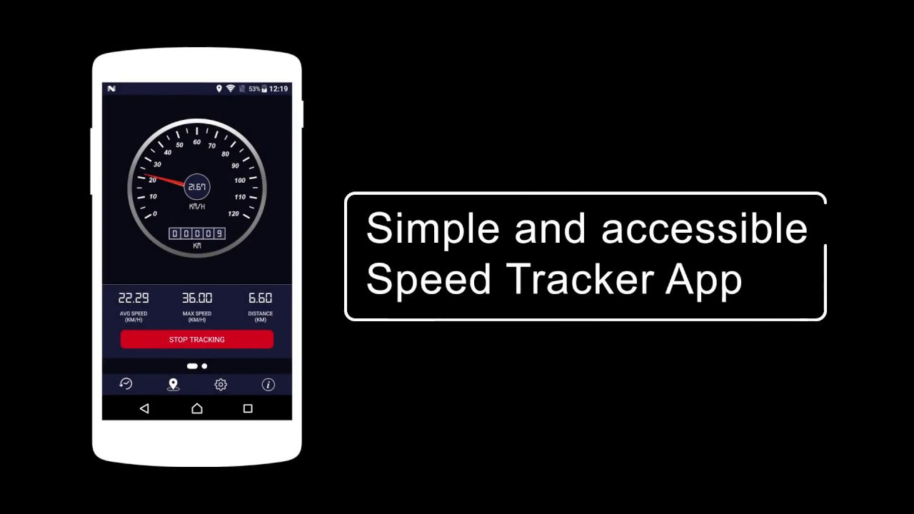 Speedometer HD - Digital GPS Speedometer - Android App