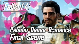 Fallout 4 - Paladin Danse Romance - Final Scene SPOILER