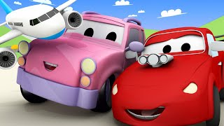 Truck videos for kids -  The Babies of Car City are Playing Alphabet Game  - Babies in car city