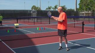 Pickleball Tutor Tips: Creative Decision Making Drill