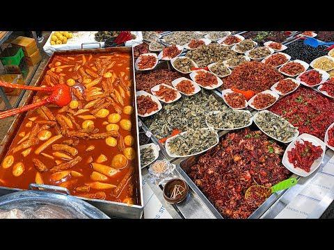 KOREAN STREET FOOD Ft Buckwheat Pancakes 🥞 Jeju Island, Day 8
