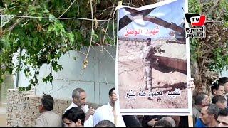 جنازة النقيب محمود طه ضحية «حادث رفح»
