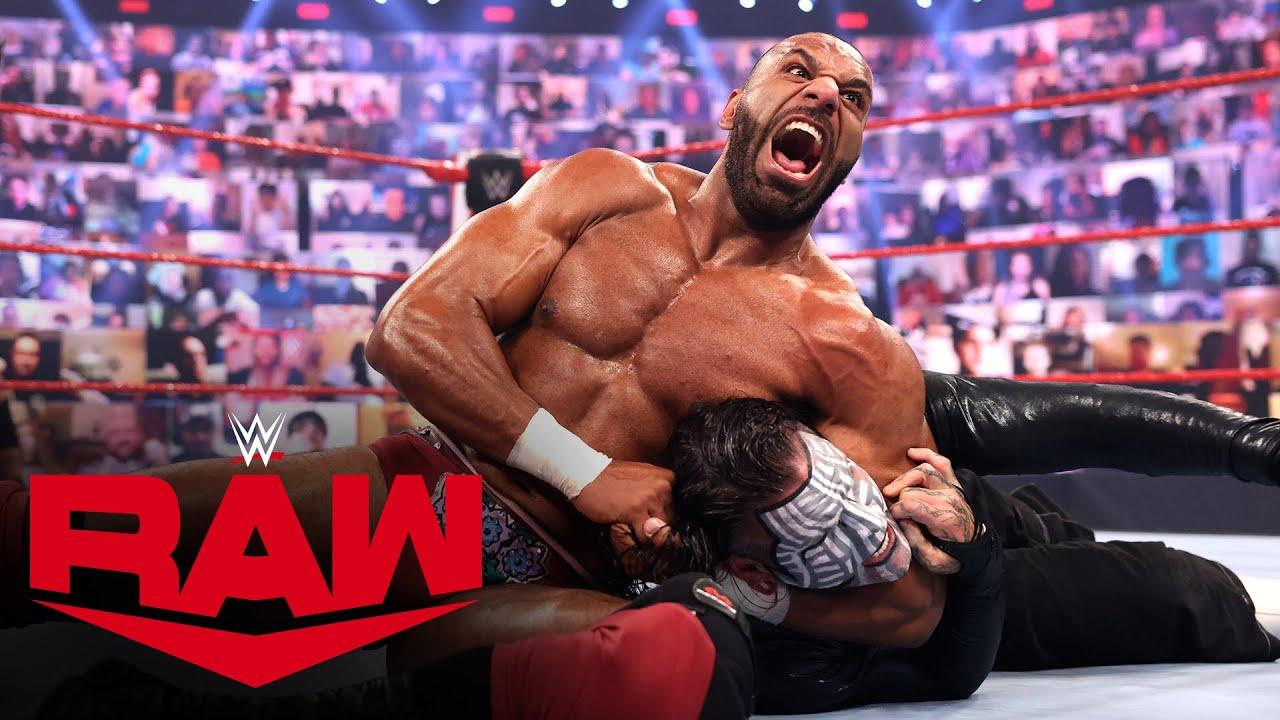 Jeff Hardy vs. Jinder Mahal: Raw, May 10, 2021
