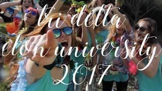 Tri Delta - Elon University PR Video 2017