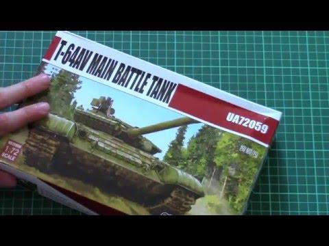 Modelcollect 1/72 T-64AV (UA72059)