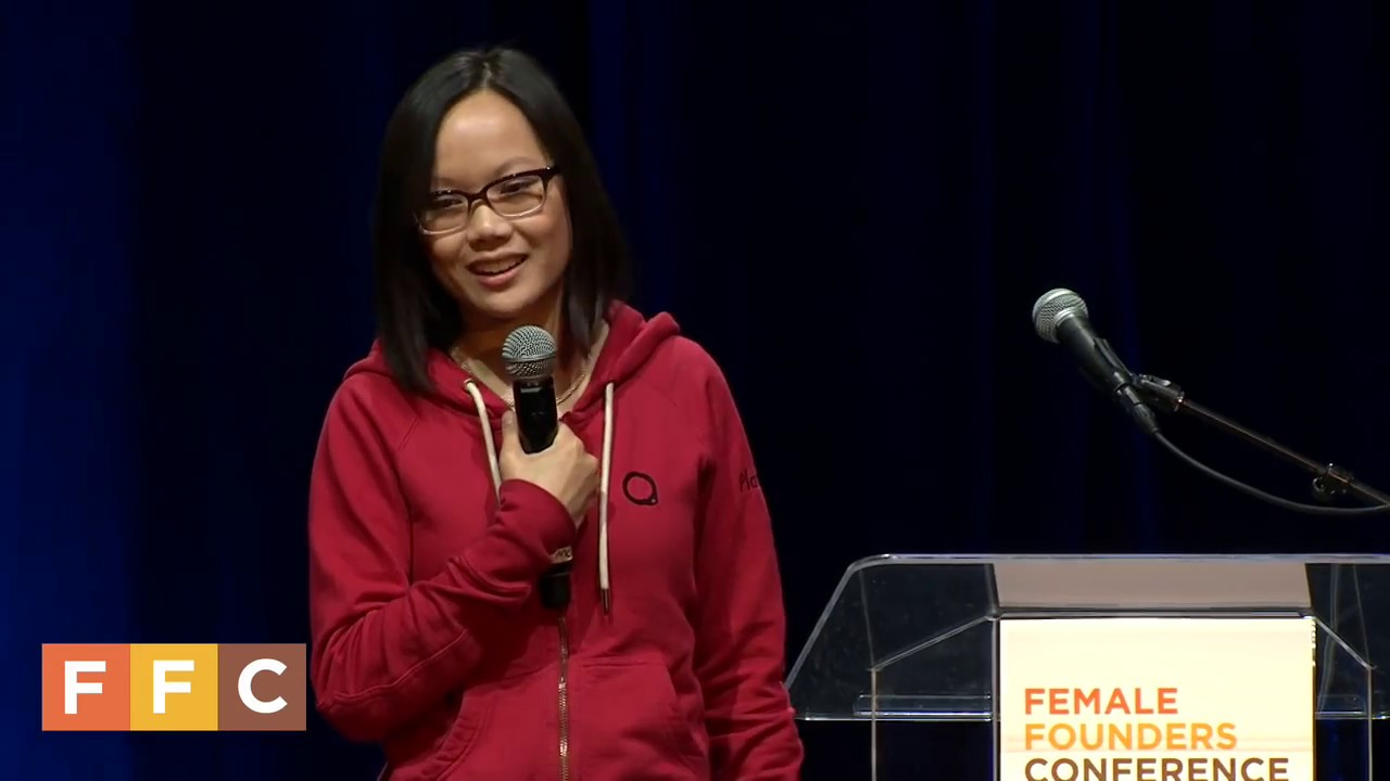 Tracy Young Speaks at Female Founders Conference 2015
