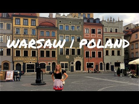 HIGHLIGHTS OF WARSAW, POLAND!
