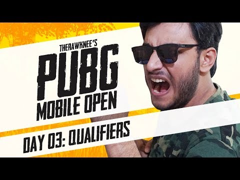 PUBG MOBILE TOURNAMENT: DAY 3 | THERAWKNEES PUBG MOBILE OPEN
