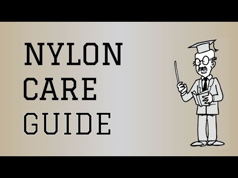 Fabric Care Guide : Nylon | How to care for Nylon Clothing
