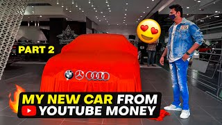 MY NEW CAR FROM YOUTUBE MONEY | PART 2