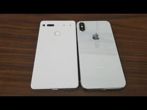 ESSENTIAL PHONE VS IPHONE X | The Winner is...