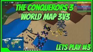Roblox The Conquerors 3 New World Map Lets Play! The Conquerors 3 Lets Play #3 Battle Of Egypt!