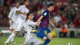 messi humiliating ronaldo