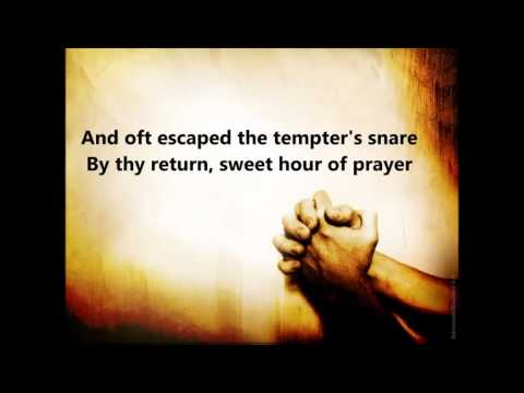 Sweet Hour of Prayer with Lyrics by Alan Jackson