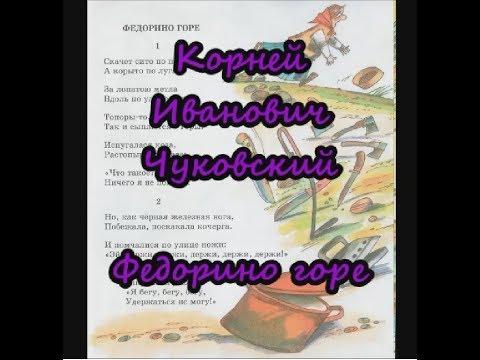 Федорино горе Корней Чуковский Аудиосказки для детей