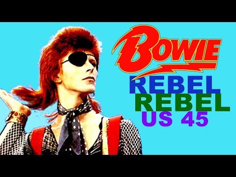 David Bowie  'Rebel Rebel' US single version (HQ)