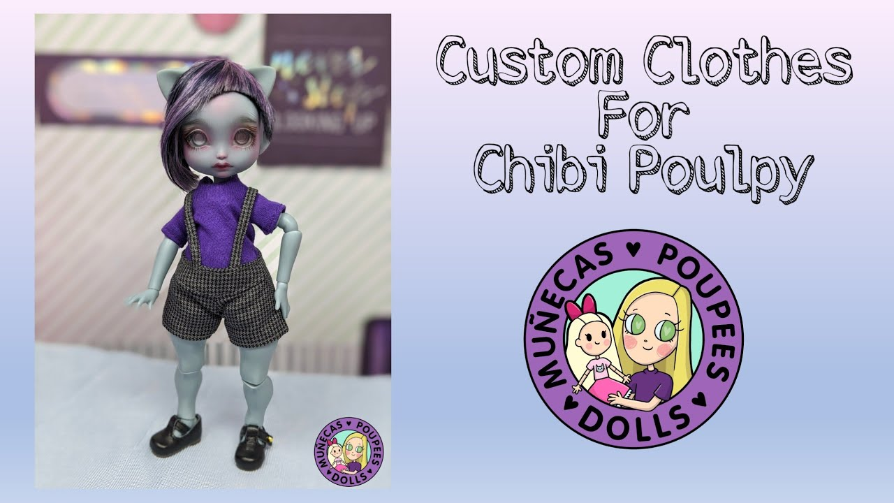 Custom Clothes For Chibi Poulpy By Elodolly