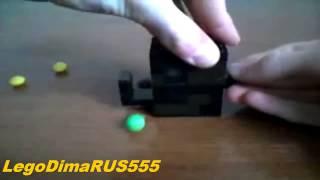 Обзор Мини Лего Конфетный Диспенсер (V1) (RUS) / Review Mini Lego Candy Dispencer (V1) (Russian)