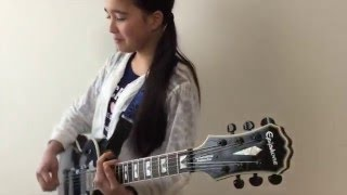 Here is Audrey (12) playing Rocksmith -Trust - Megadeth. COOL! I th...