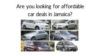 Cars for sale in jamaica - Affordable car deals