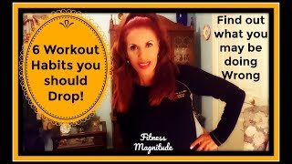 These are 6 Workout Habits you should Drop! #HealthFitness