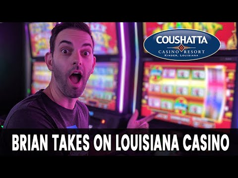 🔴 LIVE From Coushatta Casino 🎰 Louisiana Slot Machines